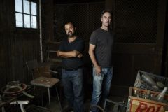This hit show follows two of the most skilled pickers in the business, Mike Wolfe and Frank Fritz, as they embark on an epic road trip across the U.S. in search of America's most valuable antiques from motorcycles, classic cars, and bicycles to one-of-a-kind vintage memorabilia. Photo courtesy American Pickers on History Channel