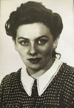 A young Gina Parker. From the age of 15 to 22, Parker survived five labor concentration camps from 1939 to 1945, three in Poland and two in Germany. Photo courtesy of Tamara Theodore