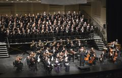 The Sacramento Community Center Theater will cap their 20th season with a performance featuring three contrasting choral orchestral works by Haydn, Vaughan Williams, and Dvoràk. Photo courtesy SCSO