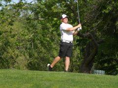 Mason Troike shot 73 to earn low medalist honors. Photo courtesy Folsom Lake College