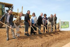 The groundbreaking ceremony was well attended and celebrated by community members and residents. Photo courtesy Cordova Recreation and Park District