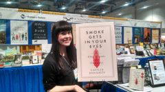 In her memoir, Smoke Gets in Your Eyes, Doughty helps to demystify death by sharing her experience working in a Bay Area crematorium. Photo courtesy The Order of the Good Death