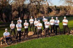 2016 Big 8 Conference Golf Champions: Folsom Lake College Falcons. Photo courtesy Folsom Lake College