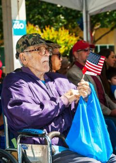 It wasn't until the late 1980s when Merchant Mariners who served in World War II were classified veterans by the U.S. Government. 