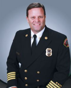 Sacramento Metro Fire Chief Mark Wells