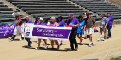 Over two hundred survivors, caregivers, family members and friends, along with organizations also raising funds and sharing information on different cancers participated in the day which began at 11 a.m. and ended at 11 p.m.