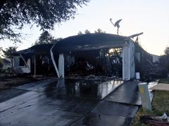 This morning started with a 2:00 am call for a house fire on the 8000 block of Camrose Way in South Sacramento.