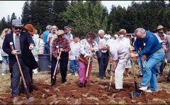 Sierra College groundbreaking, 20 years ago.