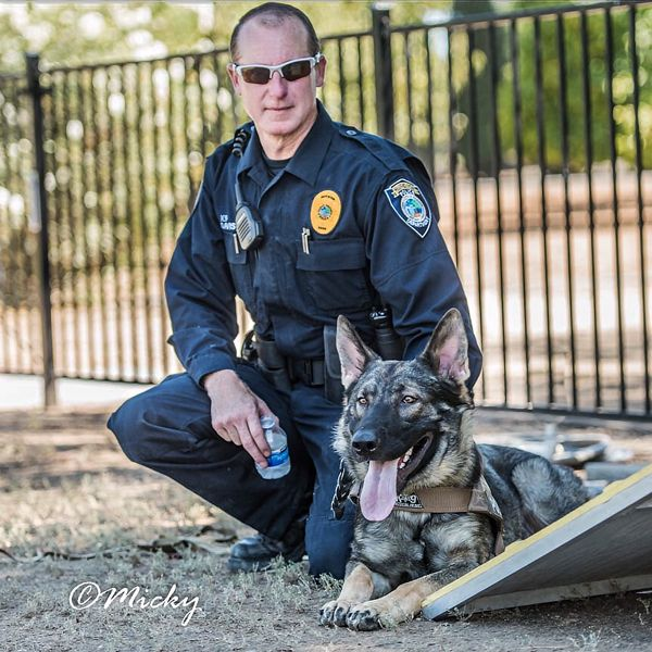 New Citrus Heights K9 Blitz Graduates With Honors