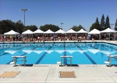 The unveiling of the new Del Oro High School pool.