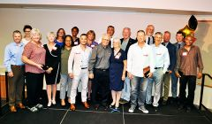 This year's pride of Rancho Cordova, inductees and the families of those who could not attend.  --Photo by Rick Sloan
