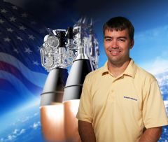 """As an intern at Aerojet Rocketdyne I had the opportunity to work alongside some of the most experienced and talented engineers in the aerospace industry,"" said Bryce Chane."