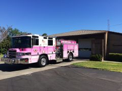 In support of every person affected by cancer, Metro Fire will be operating a Cancer Awareness engine for the third year. The engine will run out of five fire stations, one in each of our Battalions, during the month of October.