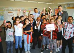 United Way announced the launch of its Square One Project through a Facebook Live event at Main Avenue Elementary School in Sacramento.