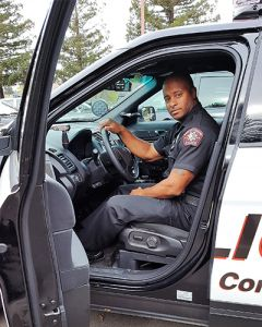 "Deputy Tyrie McIntyre values his connections with the Rancho Cordova community, where he grew up.  McIntyre is a ""shift supervisor and counted on patrol veteran,"" said Rancho Cordova Chief of Police Michael Goold."