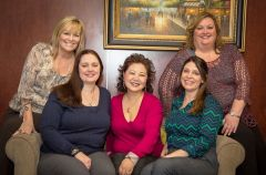 The dedicated management staff of Advanced Home Care; Angela Sehr, Owner, Angie Macadangdang, Chief Clinical Officer, Debi Moroles, Director of Business Development, Deb Ryan, Administrator and Lisa Gaza, Director of Patient Care Services. 