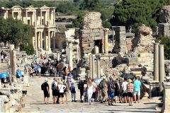 Walking the stone streets of ancient Ephesus is the one must-do when in Kusadasi or Izmir. 