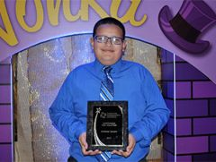 Pictured is Anthony Lacayo, Mitchell Middle School student and Cordova Community Council award winner 2017 for Outstanding Teen Service.  -- Photo courtesy Folsom Cordova Unified School District