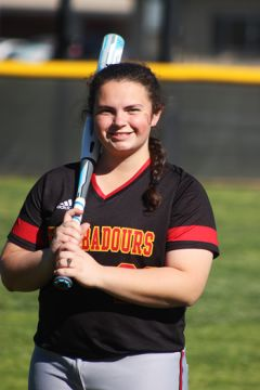 """Head Coach Kevin Warren said. """"She is a great situational hitter who under-stands the game and is a student of the game."""""""