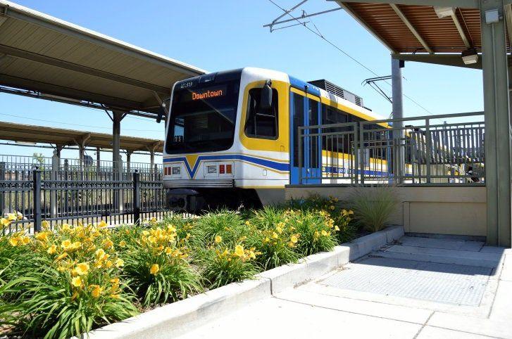 Travel Times Light Rail Sacramento