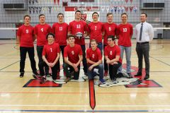 Members of this year's Cordova High School boys volleyball team are, not listed in order: Alex Kiosa, David Babin, Vitaliy Semenov, Jason Novik, Mark Shcherbanyuk, Nik Trachuk and Daniel Yaikov. Juniors are Allan Volkov, Allen Rogalskiy, Eugene Khramtsov and assistant coach Jacob Locke. Not pictured is Cordova head coach Mark Reuter. Photo courtesy of Cordova High School Yearbook Staff