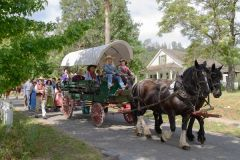 Free wagon rides will be available at California Pioneer History Day at Marshall Gold Discovery State Park in Coloma, on May 20. 