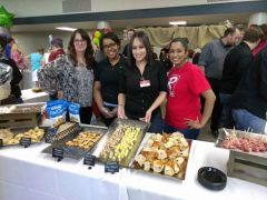 The Raleys' team always steps up with a full spread of delicious items.  -- All photos by Paul Scholl