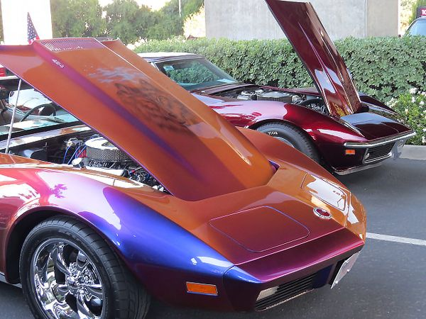 American Muscle Car Show: Vettes & Vets: The American Muscle Car Show