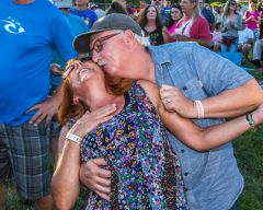 Pablo Cruise brought out the romance.  -- Photo by Dave Lawicka