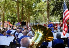 Kurt Pearsall will lead the Capitol Pops Concert Band at Fair Oaks Village Park, July 2.