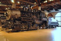 Union Pacific 4466 is an 0-6-0 type steam locomotive built in October 1920 for the Union Pacific Railroad (UP) to perform switching chores and transfer runs. The locomotive currently resides at the California Railroad Museum. 