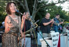 Carmichael-based, the John Skinner Band will perform a variety concert on August 6.  -- Photo courtesy Steve Harriman