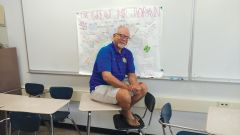 Jim Jordan, long-time yearbook and writing teacher at Del Campo High School is leaving after a 40-year career in education.