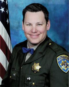 CHP Officer Lucas Chellew. Courtesy CHP