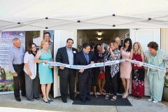 The new center opened for care in support of women in need. Photo courtesy Thebaud Communications