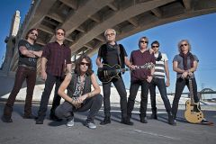 The current band members of Foreigner. Photo by Bill Bernstein, courtesy lappenenterprises.com