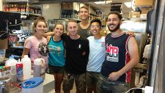 Dutch Bros: The team at Dutch Bros. keeps things brewing