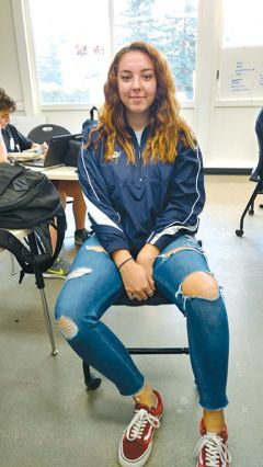 UnSchool currently shares space with La Entrada Continuation High School for 16-18 year-olds, as well as the El Serena Independent High School, also a performance-based campus. Nadie Cline is thriving in the program.