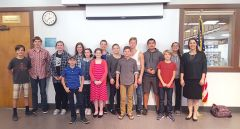 Attendees at the Toastmasters Youth Leadership Program event. Photo courtesy Toastmasters