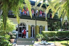 The Key West home of late, legendary American novelist Ernest Hemingway is a big draw. Photo by David Dickstein