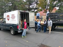 There were 16 different support organizations that received turkeys from Operation Gobble. Photo by Paul Scholl