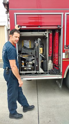 """The Truck is not just a hose and ladder on wheels,"" Hickman said"