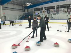 Wine Country Curling Club is dedicated to promoting the sport of curling in Northern California. Photos courtesy Wine County Curling Club.