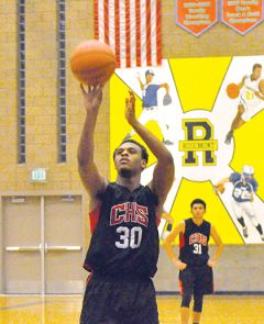 Cordova forward LeAndre Ward hits a free throw in last week