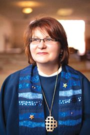 Pastor Gabi Schroeder took over as the new pastor of Advent Lutheran Church on March 1.
