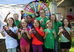 Sacramento County youth organizations rallied to clean up waterways during Creek Week. Girl Scout Troops 333 (Antelope) and 890 (Foothill Farms) celebrated a job well done during festivities at Carmichael park.