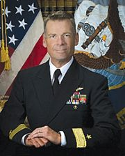 Sacramento native, Rear Adm. Scott Jones.