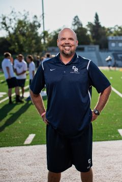 Varsity Head Football Coach Chris Horner