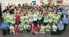 Citrus Heights Police this week joined The Police Athletic League to provide a youth summer sports program. Uniformed instructors and 80 children celebrated graduation after four days of athletics and leadership instruction.