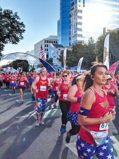 The DC Wonder Woman Run hosted its inaugural event in Sacramento on September 22, drawing approximately 1,300 participants.